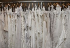 Rack of gowns